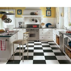 """Armstrong Alterna Solid 16"""" x 16"""" Luxury Vinyl Tile in White & Reviews 