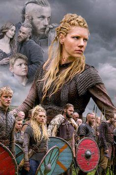 The cast of Vikings - one of my favorite programs.....IIII