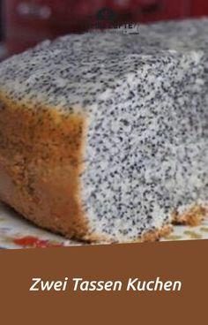 Zwei Tassen Kuchen – Yum Rezepte Two cups of cake - yum recipes Easy Cake Recipes, Healthy Dessert Recipes, Smoothie Recipes, Snack Recipes, Smoothies, Healthy Party Snacks, Easy Snacks, Food Cakes, Food And Drink