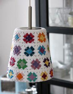Chorrilho de ideias: Ideias em crochet para decorar a casa