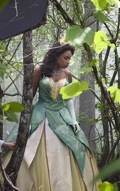 Jennifer Hudson Makes a Beautiful Princess Tiana