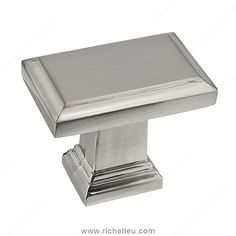 Richelieu Hardware in. Satin Nickel Estate Large - The Home Depot
