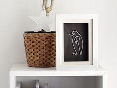 DIY-Anleitung: Bilder aus Draht nach Picasso basteln via DaWanda.com