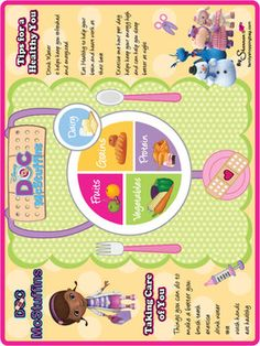 Health Chart, Doc McStuffins, Party Decorations - Free Printable Ideas from Family Shoppingbag.com