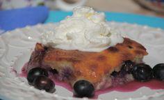 Blueberry Gratin