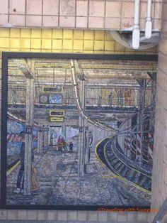 Subway Art, Spring Street Station, New York City