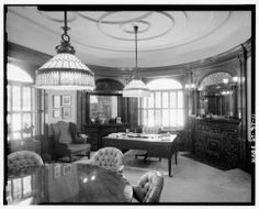 First floor dining room - Keith-Brown House, 529 East South Temple, Salt Lake City.