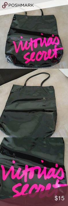 💖Victoria Secret Rubber Tote 🏖🌞Beach Tote Victoria Secret Bags Totes