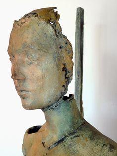 JUDITH STEWART -figurative bronze, clay sculpture - Sculpturesite Gallery