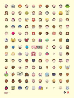 1 print ✨ My 10 Years of Marvel Studios official emoji poster. edition of Hand signed and numbered, in collab with Grey Matter Art and officially licensed from Marvel. Marvel Funny, Marvel Memes, Marvel Dc Comics, Marvel Avengers, All Marvel Heroes, Poster Marvel, Wallpapers Ipad, Marvel Drawings, Avengers Wallpaper