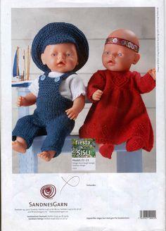 Albumarkiv Crochet Doll Clothes, Lightning Mcqueen, Baby Born, Album, Baby Knitting Patterns, Crochet Hats, Archive, Design, Google