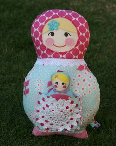 babushka dolls on Pinterest   Matryoshka Doll, Dolls and Fabric Dolls
