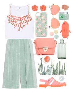 """""""Cacti: Pleasant Petiole"""" by jacqueen on Polyvore featuring Boohoo, Dries Van Noten, Talula, Humble Chic, STELLA McCARTNEY, JuJu, Imperfect Design, Bling Jewelry, Fuji and Deborah Lippmann"""