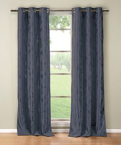 Love this Midnight Blue Blaire Blackout Panel - Set of Two on #zulily! #zulilyfinds