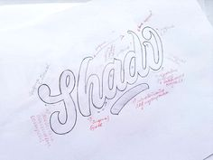 Shadi sketch by Nick Bauehr