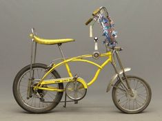 "1970s schwinn stingrays | 686: C. 1970 Schwinn Stingray ""Lemon Peeler"" : Lot 686"