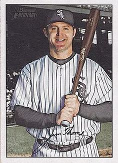 2007 Bowman Heritage #66 Jim Thome Front