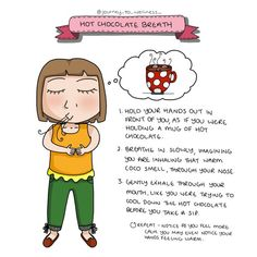 I just adore this breathing technique. It works an absolute treat with children and adults alike! This resource is be… Therapy Tools, Art Therapy, Therapy Ideas, Health And Wellness, Mental Health, Health Tips, Health Care, Mindfulness For Kids, Yoga