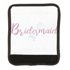 #bridesmaid - #Dolphin Beach Bridesmaid Luggage Handle Wrap