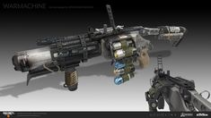 ArtStation - Some Black Ops 4 work, ECHO LIMA Zombie Weapons, Sci Fi Weapons, Concept Weapons, Black Ops Zombies, Gun Vault, Submachine Gun, Black Ops 4, Military Gear, War Machine