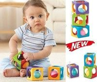 Wish | (Shipped from US) Baby Learning Toy Big Blocks Sound Shake Color Developmental Toddler Play Gifts