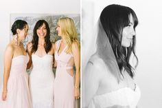 bride and bridesmaids // Wedding photographer in Provence  Village Lacoste, Luberon Valley  Maya Maréchal