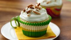 Indulge in life's little pleasures - margaritas and cupcakes with a sweet and salty mix and a creamy yogurt topping.