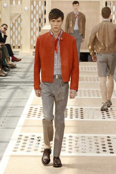 Look 23 from the Louis Vuitton Men's Spring/Summer 2014 Fashion Show. ©Louis Vuitton / Ludwig Bonnet