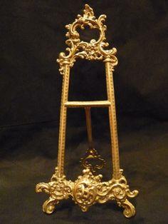 Porte tableau/chevalet style Louis XV/Rocaille