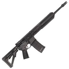 AAC MPW AR-15 Semi Automatic Rifle .300 AAC Blackout 16 Threaded Barrel 30 Round Capacity Knights Free Floating URX III Rail Geissele Trigger Black 101997