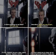 ksc Maybe she just thought it would bring back fond memories of Wilf with his antlers at Christmas time ☺♥♥
