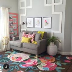 This beautiful bohemian rug is hand tufted meticulously using polyester for added texture and dimension. The enchanting floral pattern of this rug creates a magical ambiance in any room.