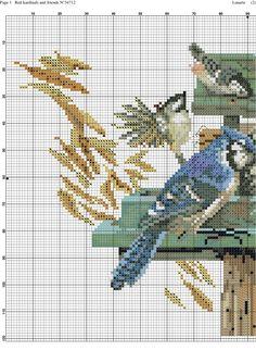 Cross stitch birds 1