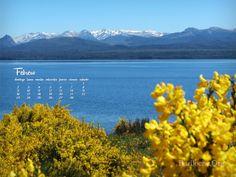 Fondo de Escritorio con imágenes de Bariloche y el calendario del mes de FEBRERO, hace click en el enlace:  http://www.bariloche.org/paginas/2014/02/781/wallpaper_con_almanaque_febrero_2014/