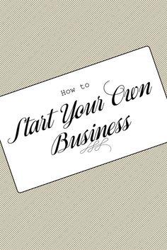 Run+your+own+business+via+@PureWow via @PureWow