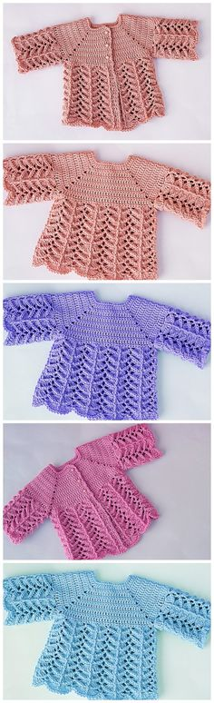 Crochet Baby Pullover - Crochet Ideas - Crochet Baby Pullover Best Picture For college outfits For Your Taste You are looking for somethi - Crochet Bebe, Knit Crochet, Crochet Cardigan, Easy Crochet, Crochet Dress Outfits, Pull Bebe, Party Kleidung, Baby Up, Baby Sweaters