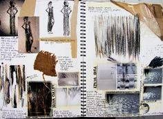 Fashion Sketchbook fashion design portfolio