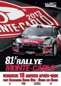 Le 81ème Rallye Monte-Carlo WRC travsersera Digne le 18 janvier