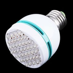 3W E27 110-260V cool White light bulb 42 leds energy saving LED bulb lamp Spot light lamp by cool shiny. $12.00. Quick Overview Ultra bright energy saving lamp, saving most energy than ordinary lamps and brightness equal to 15W-20W lamps ability.It's a real green bulb, soft light, no ultraviolet(UV) and infrared(IR) radiation. Ultra bright energy saving lamp, saving most energy than ordinary lamps and brightness equal to 15W-20W lamps ability.It's a real green bulb, soft light, n...