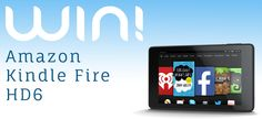 Enter our sweepstakes to win a brand new Amazon Kindle Fire HD6 Tablet! Get bonus entries by tweeting and sharing!