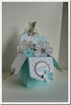 Tag Topper Punch Box Card by Amanda Bates @ The Craft Spa 001