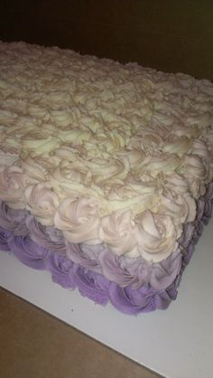 Ombre Sheet Cake Sweet Teau0027s Atl/Sav @cakes_by_sweet_t