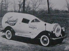 The Luick Dairy truck, from the early 1930's. Luick Dairy was located in Milwaukee, Wisconsin, and was the franchise holder of the Sealtest label, in their area of the Midwest.