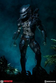 Predator Predator Jungle Hunter Maquette by Sideshow Collect | Sideshow Collectibles