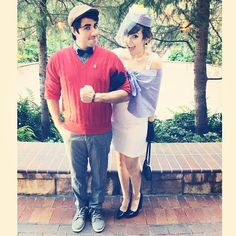 sarahsnitch:  #DapperDay Bernard and Bianca! #disneybound #disneyland #rescuers #disney