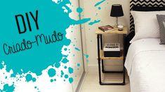 DIY - Criado-mudo industrial usando canos de PVC Ideias Diy, Sweet Home, New Homes, Room Decor, Make It Yourself, Crafts, House, Instagram, Youtube