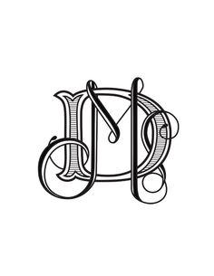 D & M monogram - Google Search