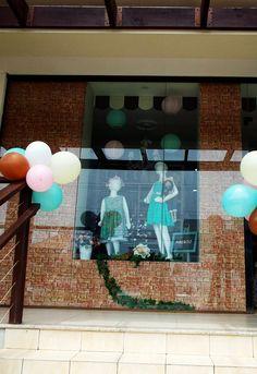 Vitrine Amelie Mundo Infantil #moda #Fashion #window #kids @infantil #vestido #fofo #loja #modainfantil #store #lindo #flower #vitrine #roupas