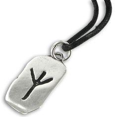 Eolh rune. Viking symbol for protection