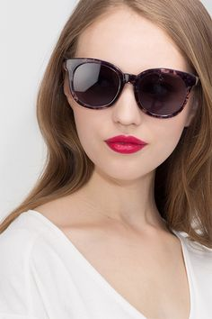 1ca3e0427f Elena Floral Plastic Sunglasses from EyeBuyDirect. Come and discover these  quality sunglasses for a good